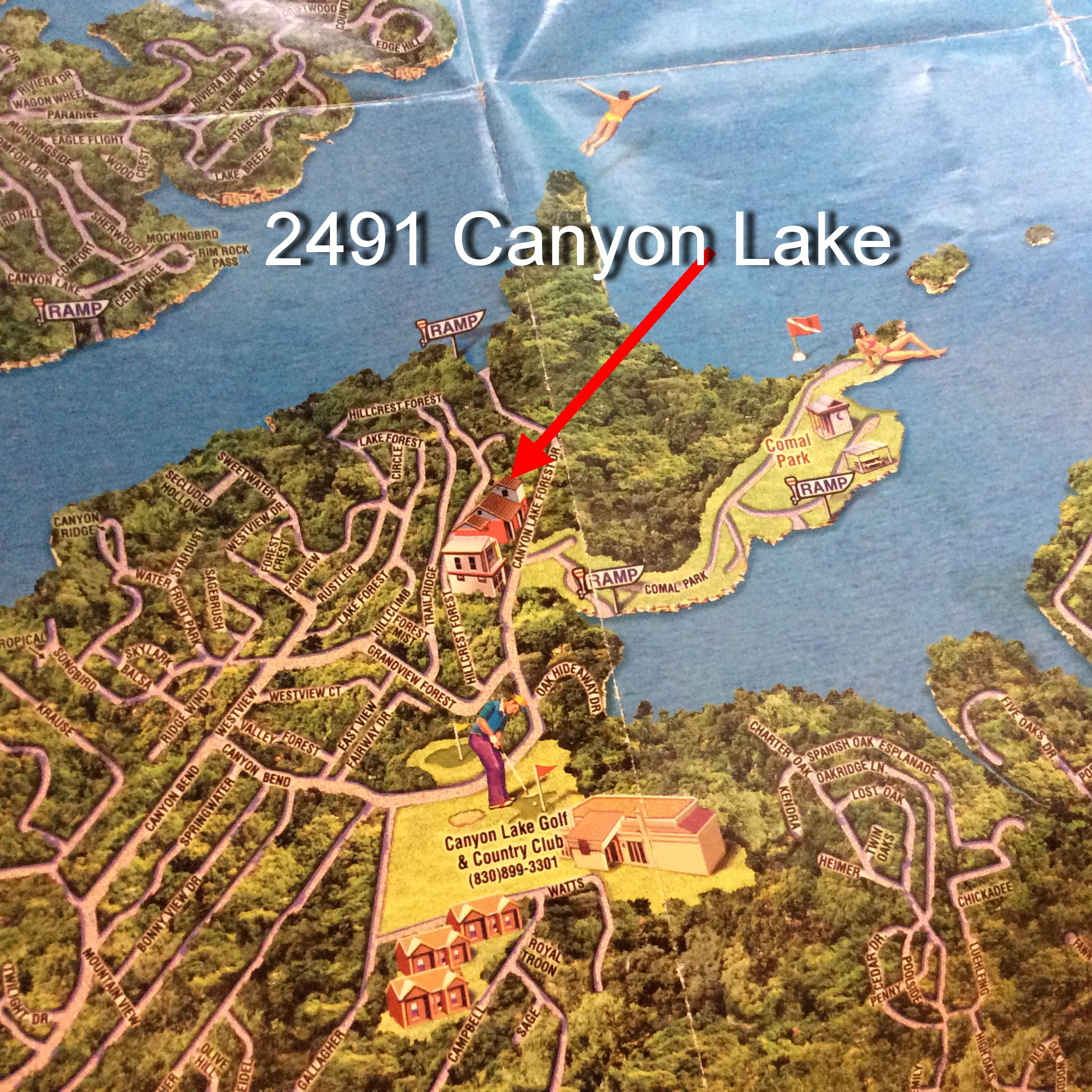 2491 Canyon Lake Forest Canyon Lake Tx 78133